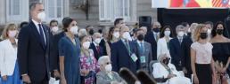 AXON COMUNICACION, La veterinaria, presente en el acto de homenaje rendido hoy a los sanitarios y víctimas de la pandemia