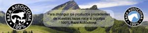 AXON COMUNICACION, El logotipo 100 % Raza Autóctona pone en valor el origen y la calidad de 62 razas ganaderas españolas