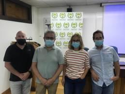 AXON COMUNICACION, El Col. Vet. de Huesca dona 1.500 € para atender animales en La Palma