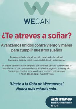 AXON COMUNICACION, Wecan donde los veterinarios cumplen sus sueños